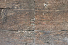 trägammala plankor Arkivbild