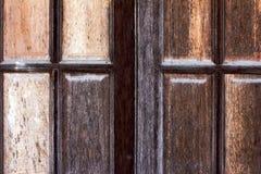 trägammalt fönster Royaltyfria Bilder