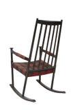 trägammalt vaggande för stol Arkivbild