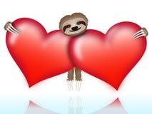 Trägheit am Valentinstag Lizenzfreie Stockfotografie