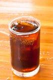 träglass is för colagolv Arkivbild