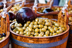 trägröna olivgrön för trumma royaltyfria foton