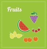 Trägt Abbildung Früchte Lizenzfreies Stockfoto