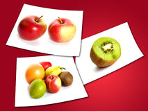Trägt Fotos Früchte Stockfotos
