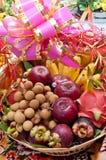 Trägt Geschenke Früchte Stockbilder