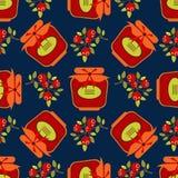 Trägt jam-14 Früchte Stockfotos