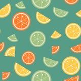 Trägt Muster auf grünem backgroud Früchte lizenzfreie abbildung