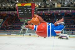 Trägt Palast CSKA zur Schau Lizenzfreie Stockfotografie