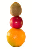 Trägt Pyramide Früchte Stockfotografie