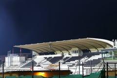 Trägt Stadion nachts zur Schau Lizenzfreie Stockbilder