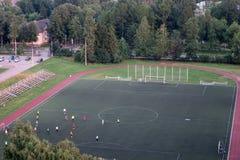 Trägt Stadion zur Schau Lizenzfreie Stockbilder