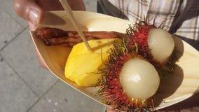 trägt tropisch Früchte Stockfotografie