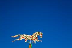 Trähäst, trähästäng Fotografering för Bildbyråer