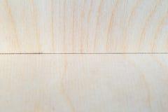 Trähörn av kryssfaneren Arkivfoto