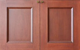 trähemliga dörrar Arkivbilder