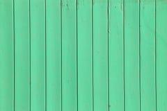trähorisontalbild för bakgrundsstaketgreen Arkivfoton