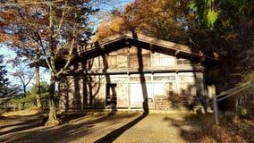 Trähus i Takayama, Japan Royaltyfri Fotografi