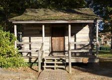 Trähus som byggs i 1800'sen Royaltyfria Foton