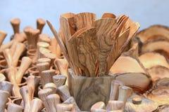 Träköksgeråd arkivfoton