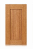 Träkabinett dörr arkivbild