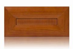 Träkabinett dörr royaltyfri fotografi