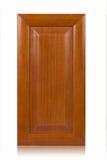 Träkabinett dörr arkivfoto