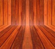 Träklaff, detailมNatural wood vägg Royaltyfria Bilder