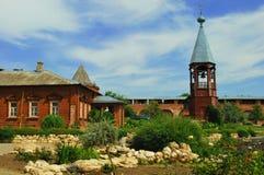 Town för gammalt land Zaraysk Arkivbilder