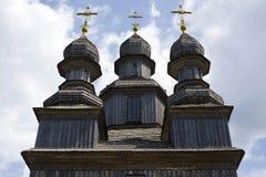 Träkupoler av kyrkan för George ` s Fotografering för Bildbyråer