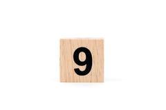 Träkvarter nummer nio Arkivbild