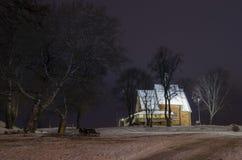 Träkyrka av St Nicholas i Suzdal Royaltyfri Bild
