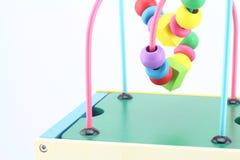 Träleksaker, framkallande lek för ungar Royaltyfri Bild