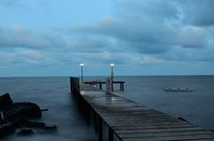 Tränga igenom Blacket Sea Arkivbild