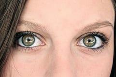 Tränga igenom på raka ögon Royaltyfri Foto