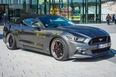 Tränga sig in bilFord Mustang GT 550 den Aero upplagan, 2016 Arkivbild