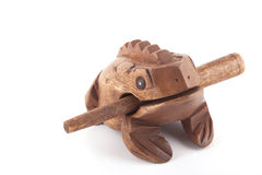 Träpaddarytmpercusionen instrumenterar Royaltyfri Fotografi