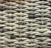 Träpappers- bakgrund för abstrakt tappning Royaltyfria Foton