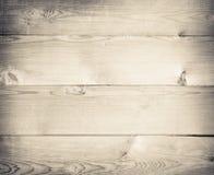 Träplankatextur eller tabel för gammal ljus grunge Arkivbilder