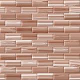 Träplankatextur, vit och brunt Arkivfoton