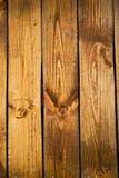 träplankavägg Arkivbild