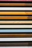 Träprövkopior för Horisontal kökfasad Royaltyfria Bilder