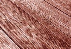 träröd yttersida med skrapor och suddighetseffekt Fotografering för Bildbyråer