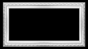 Träramen för gammal silver Royaltyfri Bild