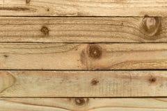 Träremsor som visar fnuren, kornet och texturen av trät Royaltyfria Foton