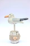 Träseagull royaltyfri bild