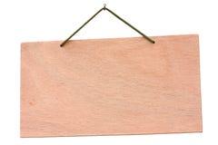 träsignboard royaltyfri bild