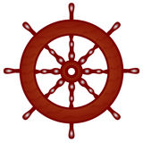 träskepp för styrninghjul Royaltyfri Fotografi