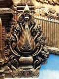 Träskulptur Royaltyfri Foto