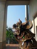Träskulptur Royaltyfria Foton