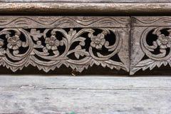 Träskulptur Fotografering för Bildbyråer